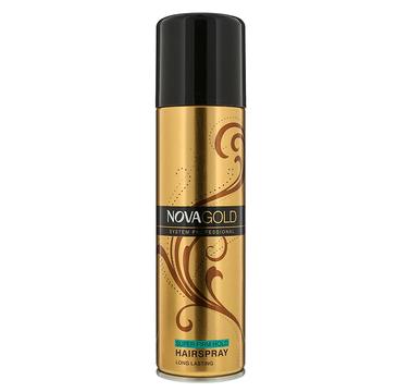 Nova Gold lakier do włosów Super Firm Hold (200 ml)