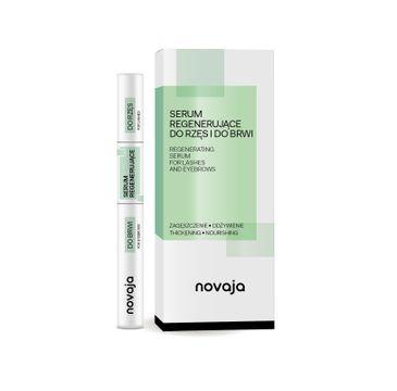 Novaja Serum regenerujące do rzęs i do brwi Zagęszczenie & Odżywienie (11 ml)