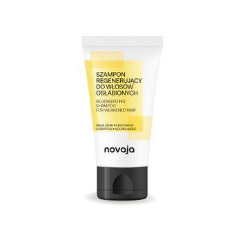 Novaja Szampon regenerujący do włosów osłabionych Nawilżenie & Odżywienie (150 ml)