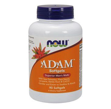 Now Foods Adam Superior Men's Multi witaminy dla mężczyzn suplement diety 90 kapsułek