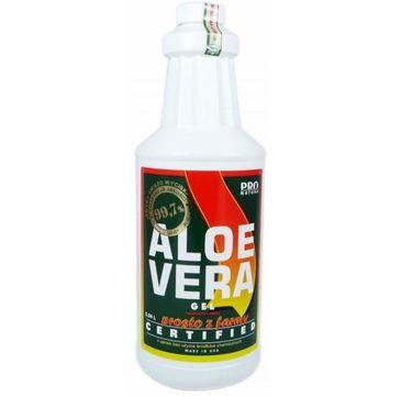 Now Foods Aloe Vera Gel certyfikowany żel z aloesu 99.7% 940ml