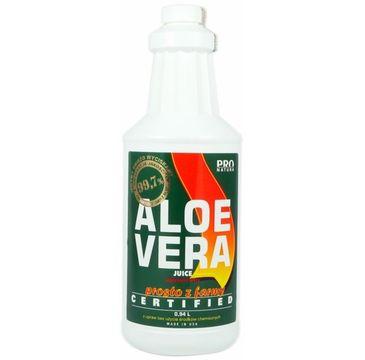 Now Foods Aloe Vera Juice certyfikowany sok z aloesu 99.7% 940ml