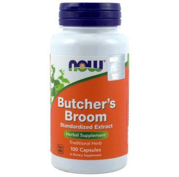 Now Foods Butcher's Broom ekstrakt suplement diety 100 kapsułek