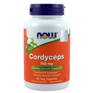 Now Foods Cordyceps 750mg suplement diety 90 kapsułek