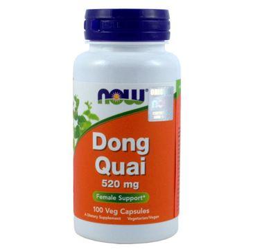Now Foods Dong Quai 520mg suplement diety 100 kapsułek