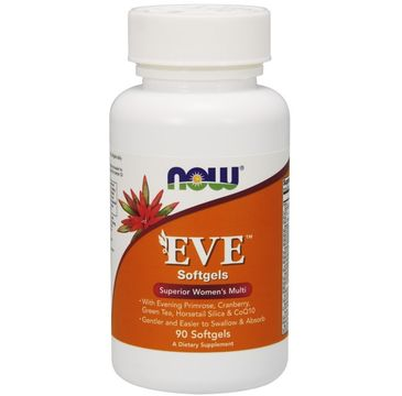 Now Foods Eve Multiwitaminy dla kobiet suplement diety 90 kapsułek