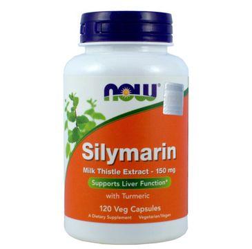 Now Foods Silymarin 150mg suplement diety 120 kapsułek
