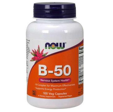 Now Foods Witamin B-50 suplement diety 100 kapsułek
