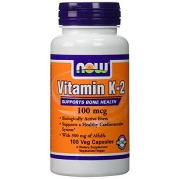 Now Foods Witamin K-2 100mg suplement diety 100 kapsułek
