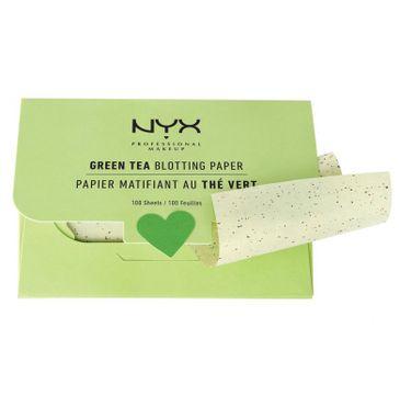 NYX Blotting Paper Green Tea bibułki matujące 100szt