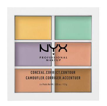 NYX Professional MakeUp Color Correcting Palette paleta korektorów do twarzy 9g