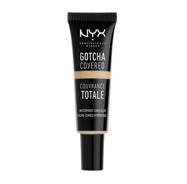 NYX Professional MakeUp Gotcha Covered Concealer korektor pod oczy i do twarzy GCC01 Ivory 8ml