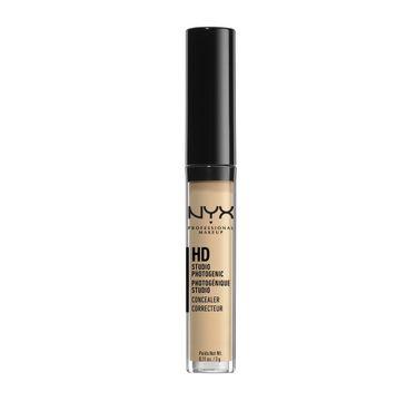 NYX Professional MakeUp HD Studio Photogenic Concealer korektor w płynie CW 04 Beige 3g