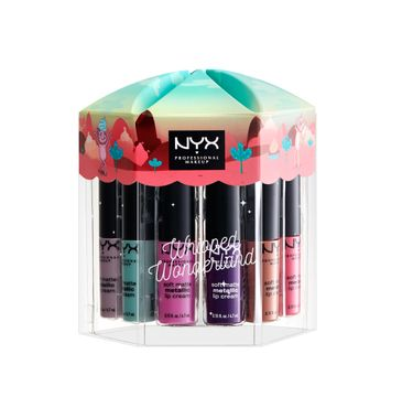 NYX Professional MakeUp Lip Snacks Whipped Wonderland zestaw pomadek do ust 12x4.7ml