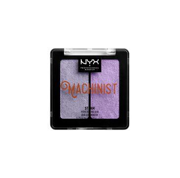 NYX Professional MakeUp Machinist Highlighting Duo podwójny rozświetlacz do twarzy Steam 2x2.8g