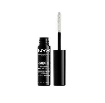 NYX Professional MakeUp Proof It! Waterproof Mascara Top Coat przezroczysty tusz do rzęs 5.5ml