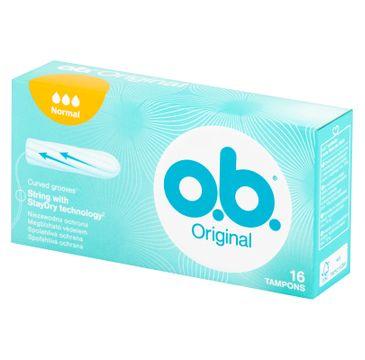 O.B. Original Normal tampony 16szt