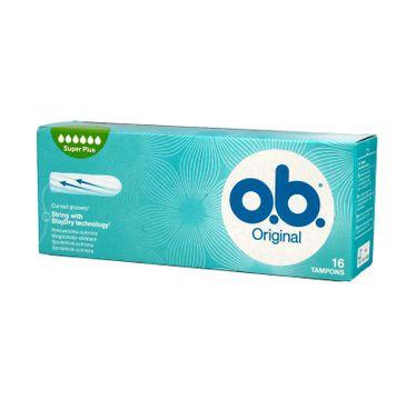 O.B. Original Super Plus tampony 1 op. - 16 szt.