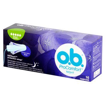 O.B. ProComfort Night Super Plus Comfort tampony 16szt