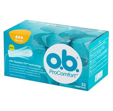 O.B. ProComfort Normal Dynamic Fit tampony higieniczne 1 op. - 32 szt.