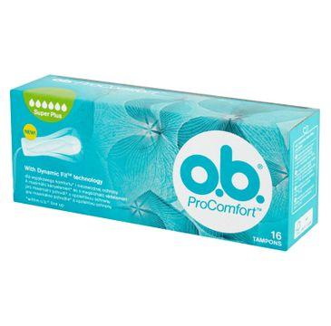 O.B. ProComfort Super Plus tampony 16szt