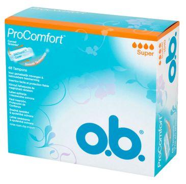 O.B. ProComfort Super tampony 48szt