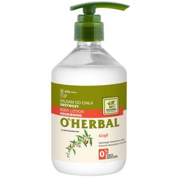 O'Herbal balsam do ciała odżywczy goji 500 ml
