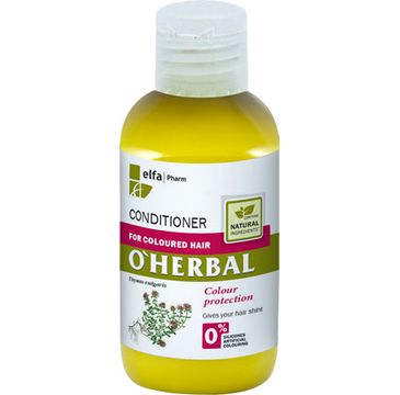O'Herbal odżywka do włosów farbowanych z macierzanką i tymiankiem 75 ml