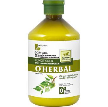 O'Herbal odżywka do włosów normalnych z ekstraktem z brzozy 500 ml