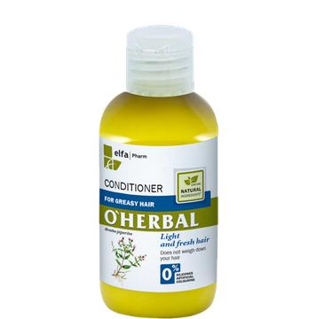 O'Herbal odżywka do włosów przetłuszczających się z ekstraktem z mięty 75 ml