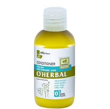O'Herbal odżywka do włosów suchych i zniszczonych z ekstraktem z lnu 75 ml