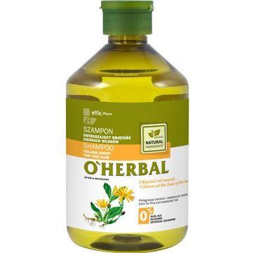 O'Herbal szampon do włosów cienkich i osłabionych z arniką 500 ml