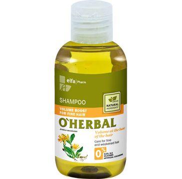 O'Herbal szampon do włosów cienkich z ekstraktem z arniki 75 ml