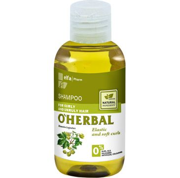 O'Herbal szampon do włosów kręconych i niezdyscyplinowanych z chmielem 75 ml