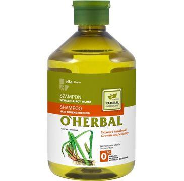 O'Herbal szampon do włosów osłabionych z korzeniem tataraku 500 ml