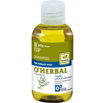 O'Herbal szampon do włosów przetłuszczających mięta 75 ml