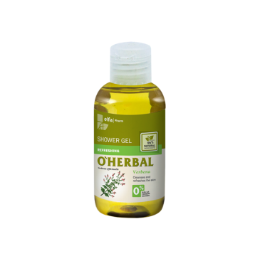 O'Herbal żel pod prysznic orzeźwiający werbena mini 75 ml