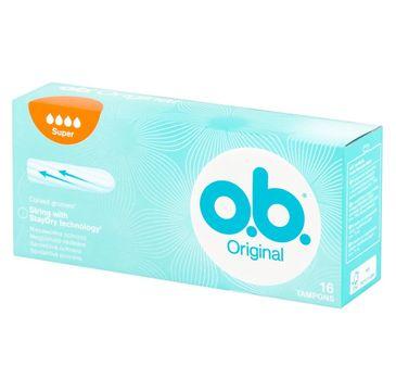 O.B. Original Super tampony 1 op. - 16 szt.