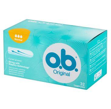 O.B. Oryginal Normal tampony higieniczne 1 op. - 32 szt.
