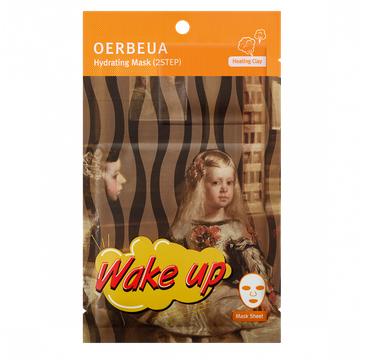 Oerbeua maseczka na płacie 2-etapowa nawilżająca Wake Up 1 szt.