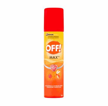 Off! MAX Aerozol przeciwko owadom (100 ml)