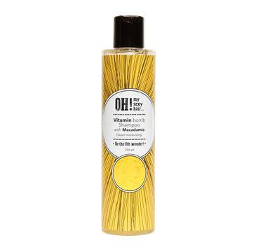 OH! My Sexy Hair Vitamin Bomb Shampoo szampon do włosów z ekstraktem z orzechów makadamia (250 ml)