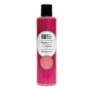 OH! My Sexy Hair Vitamin Bomb Shampoo szampon do włosów z olejem arganowym (250 ml)