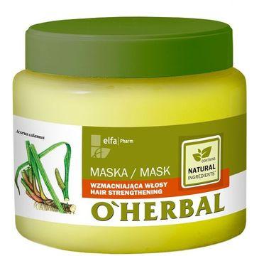 O'Herbal maska do włosów słabych z ekstraktem z korzeni tataraku 500 ml