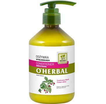 O'Herbal Odżywka do włosów wygładzająca - Malina (500 ml)