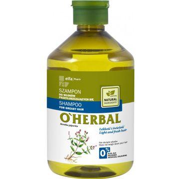O'Herbal szampon do włosów przetłuszczających mięta 500 ml