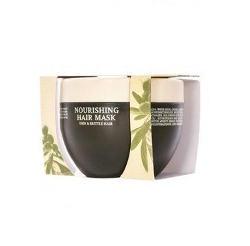 Olivolio Nourishing Hair Mask maska do włosów cienkich i kruchych z oliwą z oliwek i ceramidami 250ml