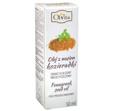 Olvita Olej z Nasion Kozieradki tłoczony na zimno nieoczyszczony 50ml