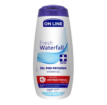 On Line – Antybakteryjny żel pod prysznic Fresh Waterfall (400 ml)