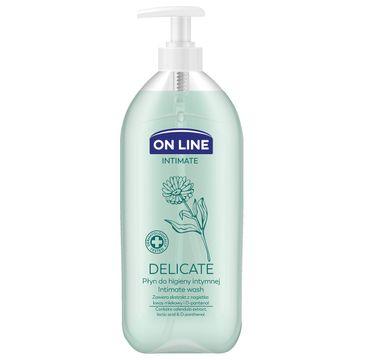 On Line Intimate Płyn do higieny intymnej Delicate z nagietkiem 500 ml